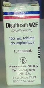 Wszywki alkoholowe disulfiram Lublin